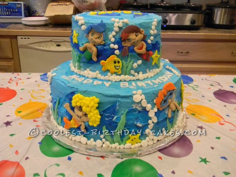 Coolest Bubble Guppies Cake