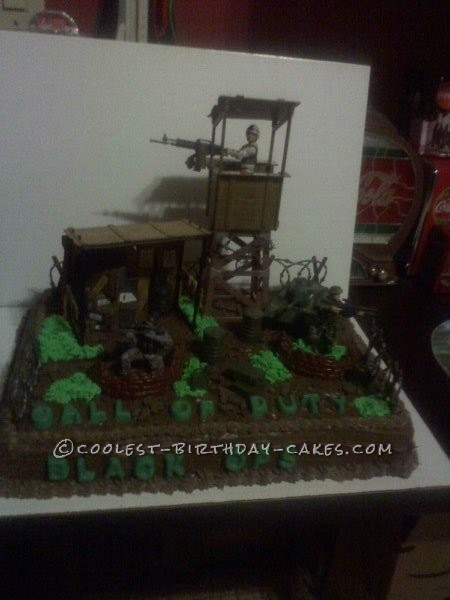 Coolest Call Of Duty Cake