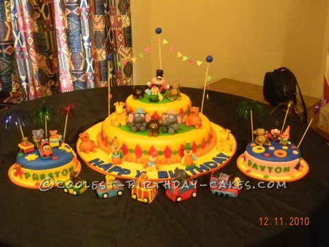 Coolest Carnival Cake