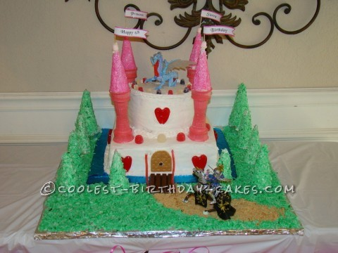 Coolest Castle Birthday Cake