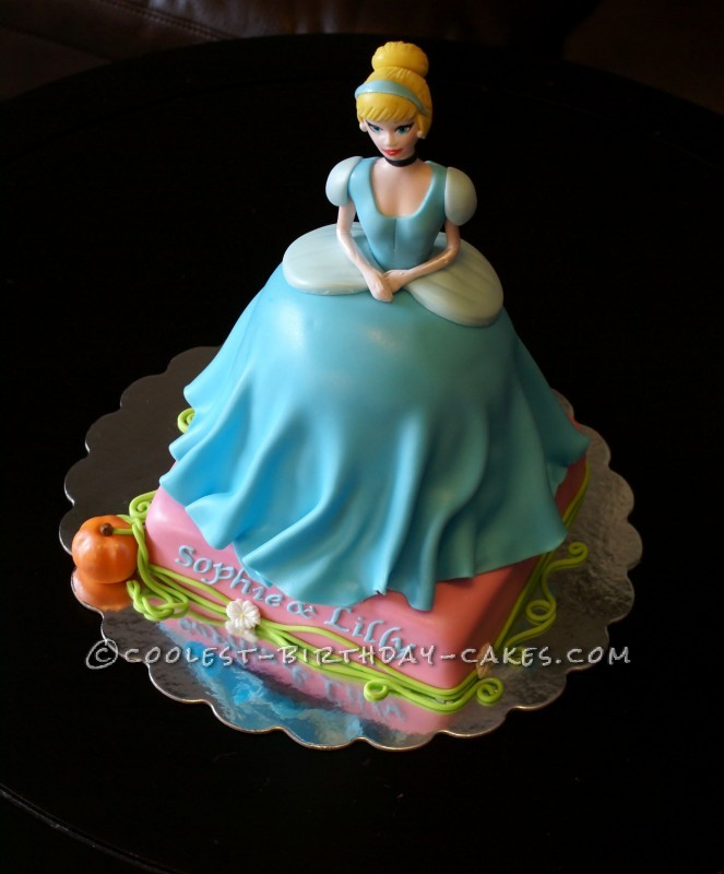 Belle of the Ball Cinderella Cake