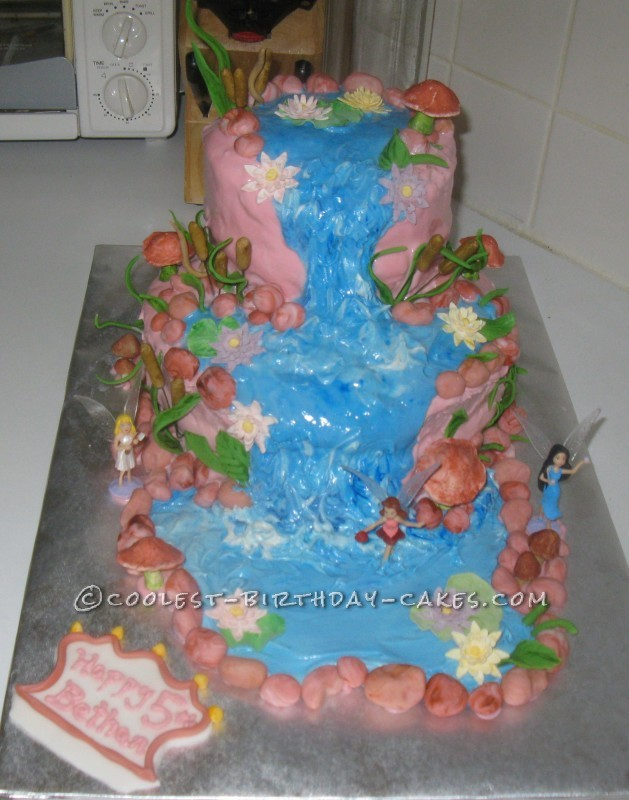 Coolest Fairy World Cake