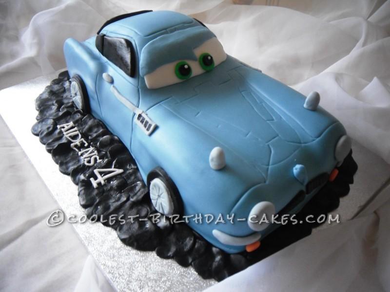 Coolest Finn McMissile Cake