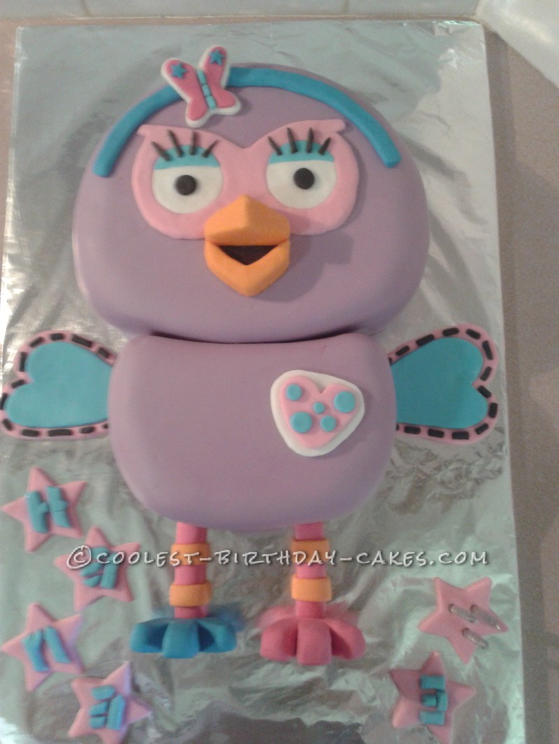 Coolest Hootabelle Cake For A 3 Year Old Princess