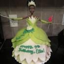 Coolest Ice Cream Tiana Doll 4th Birthday Cake