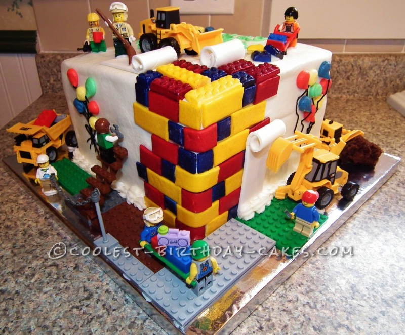 Coolest lego cake for kids