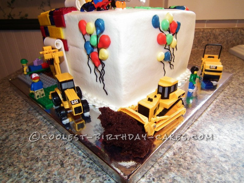 Awesome Lego Cake for Kids