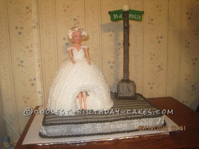 Coolest Marilyn Monroe Birthday Cake
