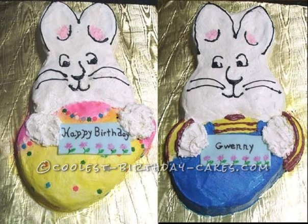 Coolest Max and Ruby Birthday Cake