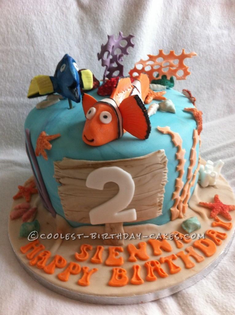 Coolest Finding Nemo Birthday Cake