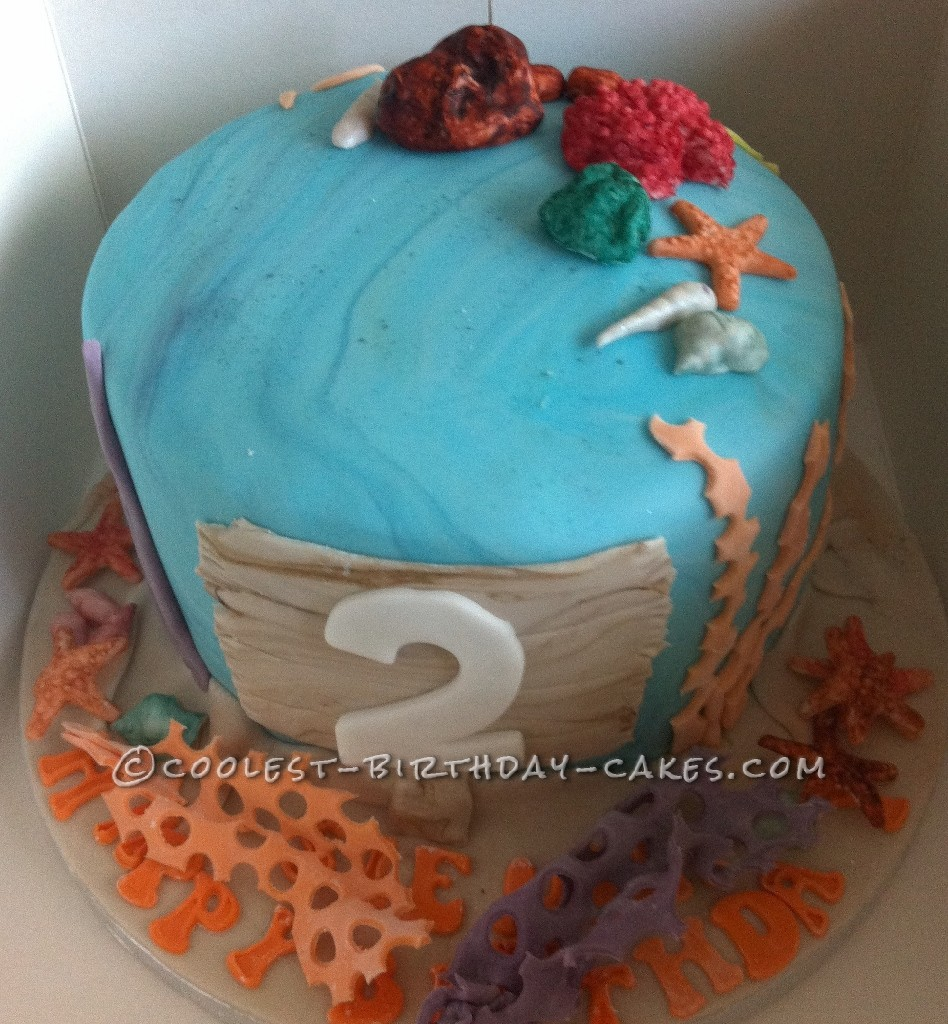 Coolest Finding Nemo Birthday Cake