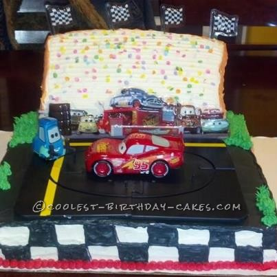 Coolest Pixar Cars Birthday Cake