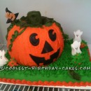 Coolest Pumpkin Cake for a 5-Year-Old Girl