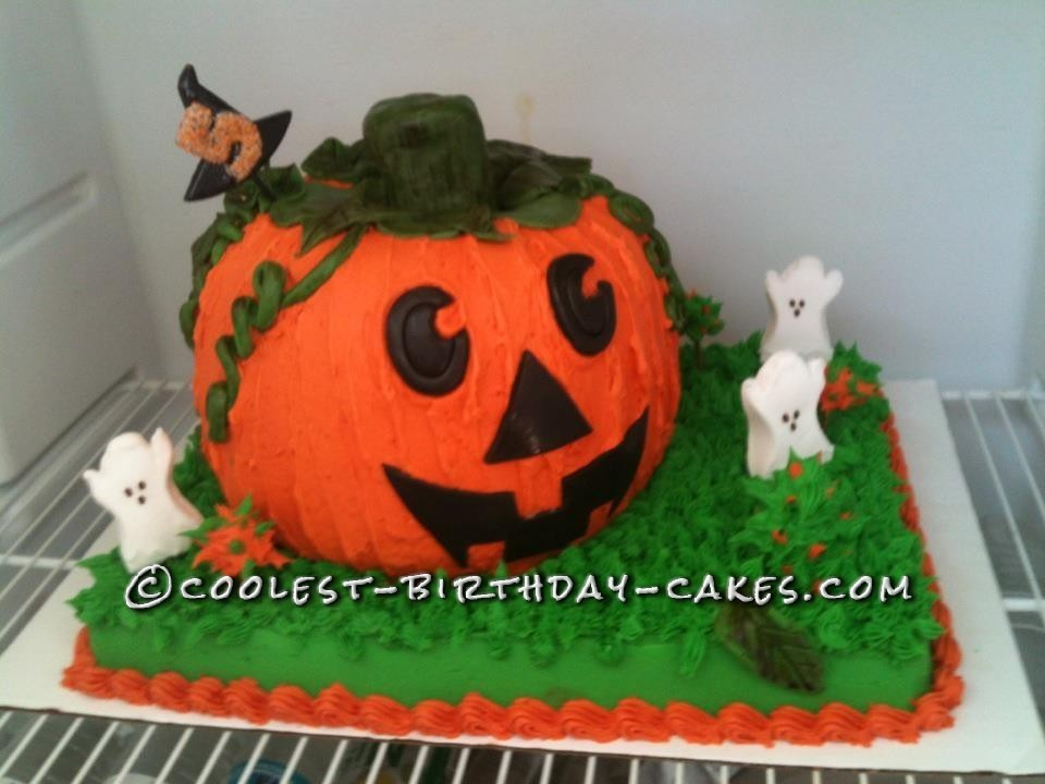 Coolest Pumpkin Cake For A 5 Year Old Girl