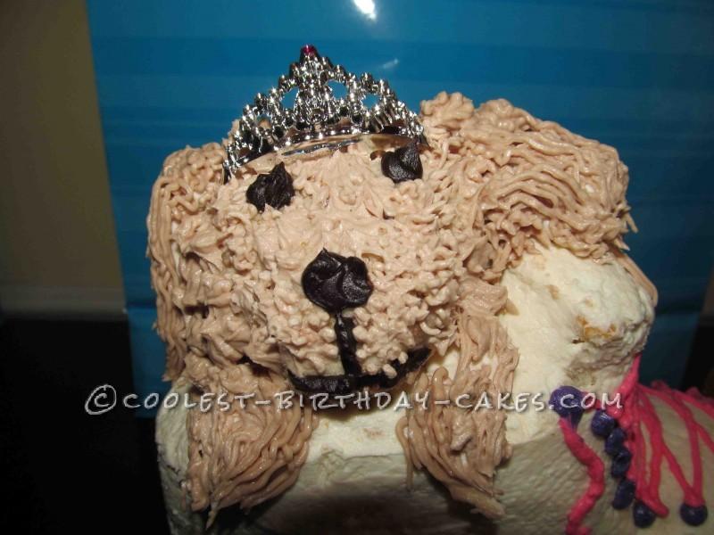 Coolest Puppy Roller Skate Cake