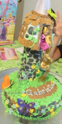 Cool Rapunzel Birthday Cake
