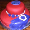 Homemade Hat/Bonnet 89th Birthday Cake