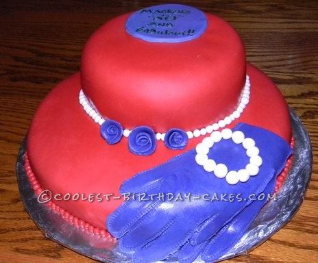 Coolest Red Hat Birthday Cake