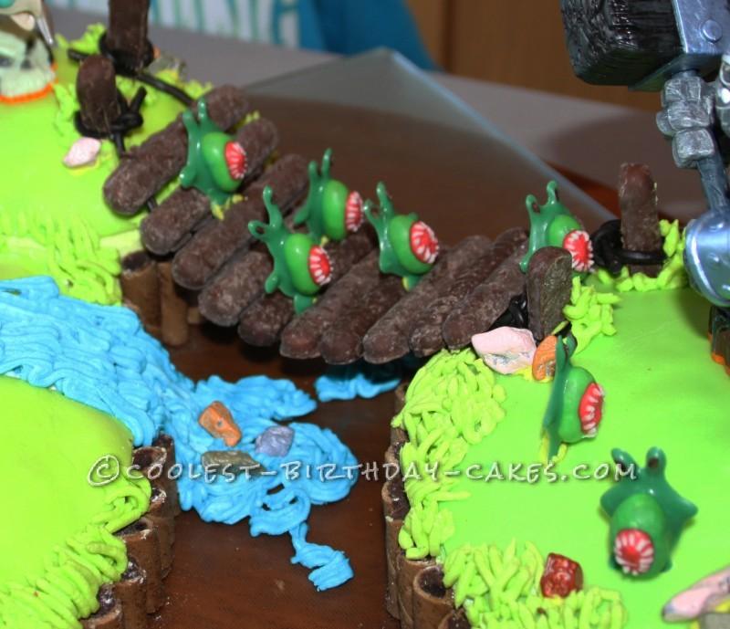 Stupendous Coolest Skylanders Cake Funny Birthday Cards Online Inifofree Goldxyz