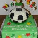 Coolest Soccer Ball Cake