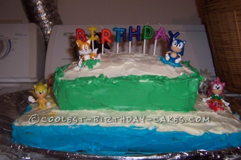 Coolest Sonic the Hedgehog Cake
