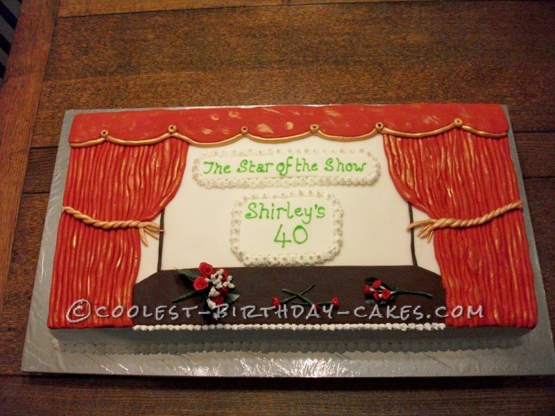Coolest Star of the Show Cake