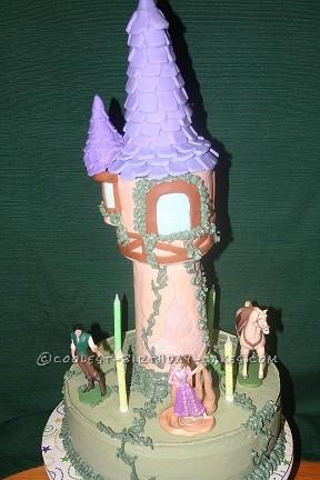 Coolest Tangled Birthday Cake