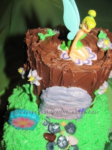 Coolest Tinkerbell Cake for 8-Year Old Trinity