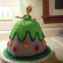 Coolest Tinkerbell Dress Cake
