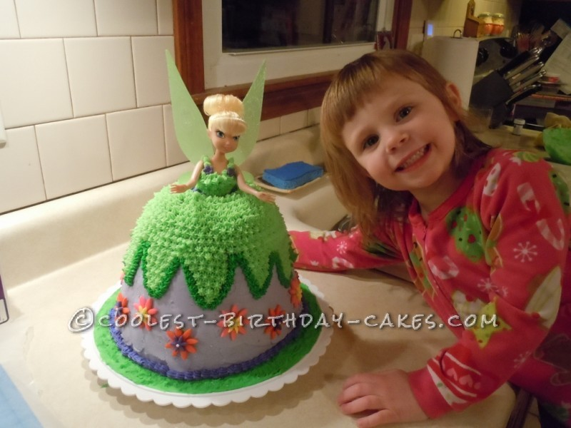 Coolest Tinkerbell Dress Cake