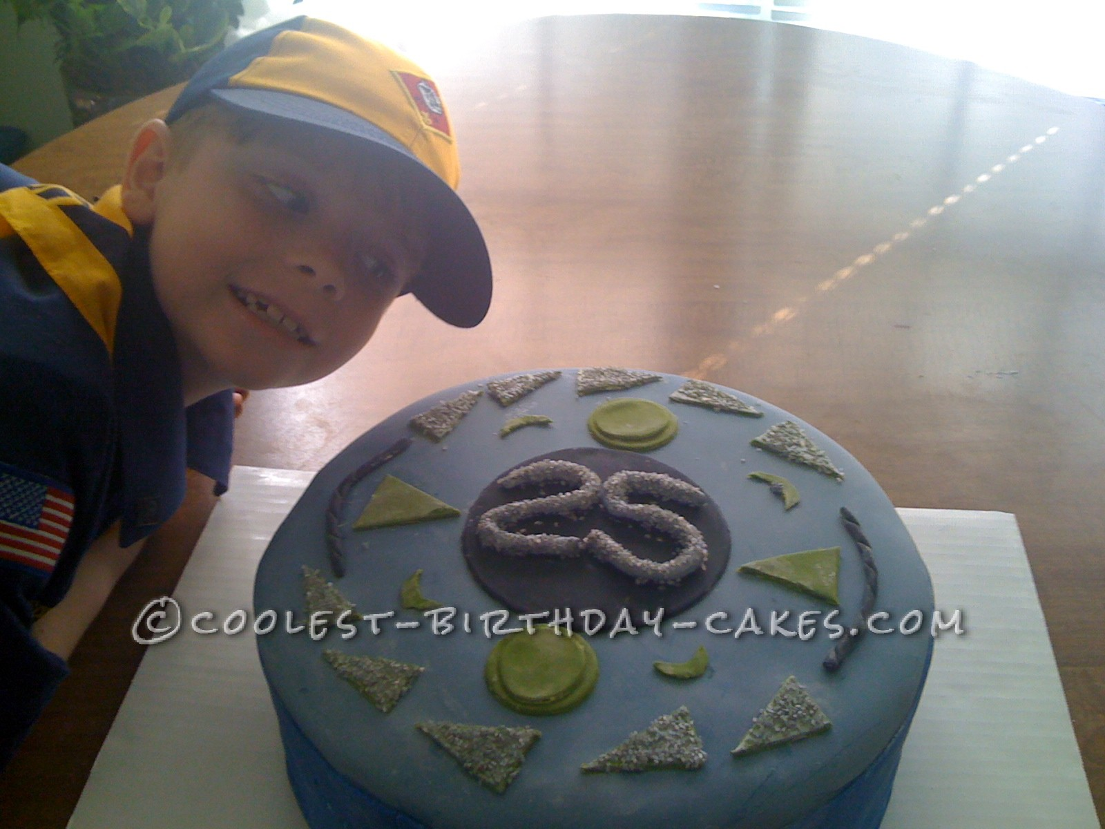 Creative Beyblade Cake