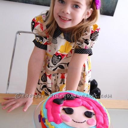 Crumb Sugar Cookie LaLaLoopsy Cake