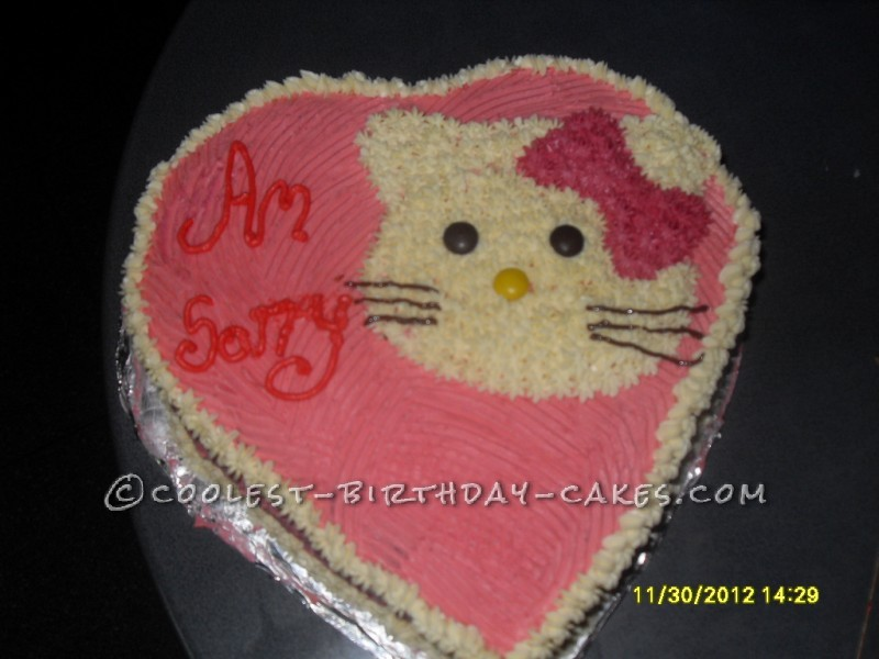 Cute Hello Kitty Cake