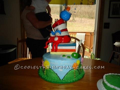 Delectable Dr. Seuss Cake