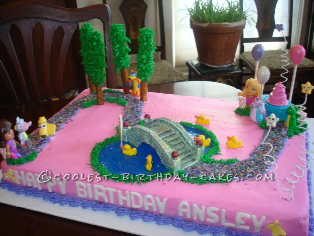 Pics Photos Big Dora Birthday Cake Ideas