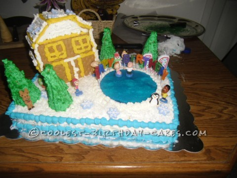 Coolest Family Guy Birthday Cake