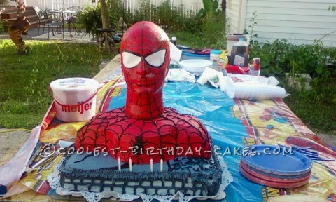 Fantastic Spider Man Cake