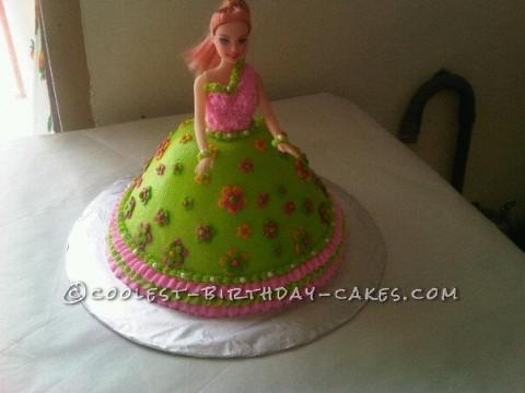 Flowergirl Birthday Cake