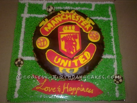 Awesome Manchester United Cake