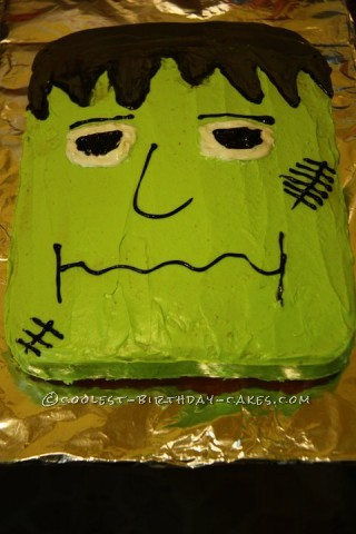 Coolest Franky Frankenstein Cake
