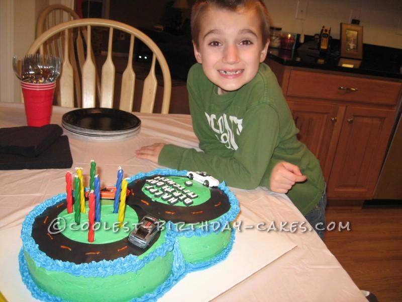 Figure 8 Racetrack Birthday Cake