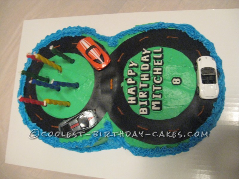 Figure 8 Racetrack Birthday Cake Ideas For Boys Charming Inspiration Year Old