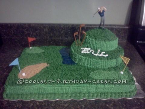 Cool Golf Cake