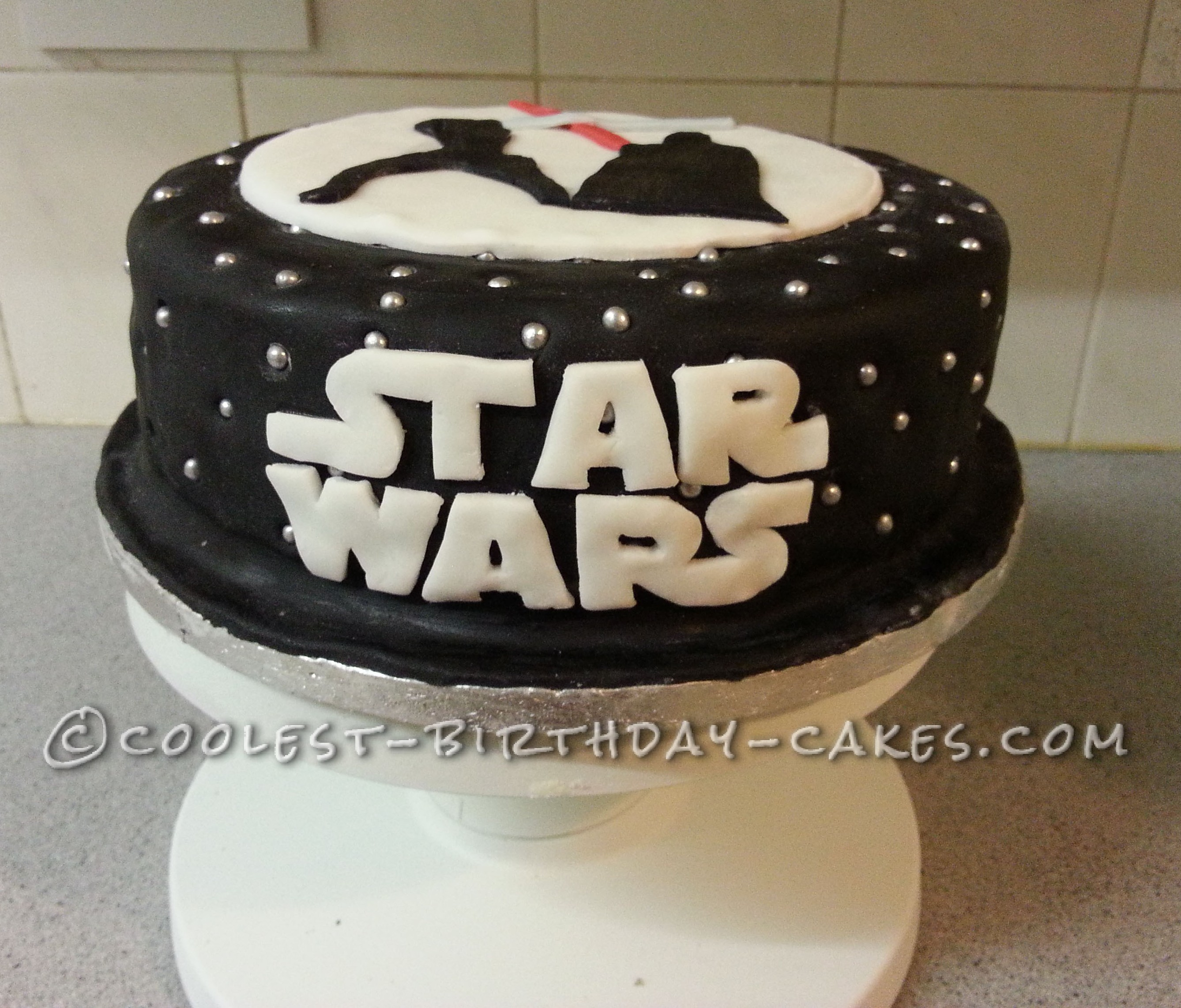 Grown Up Star Wars Cake for a Self-Confessed Geek