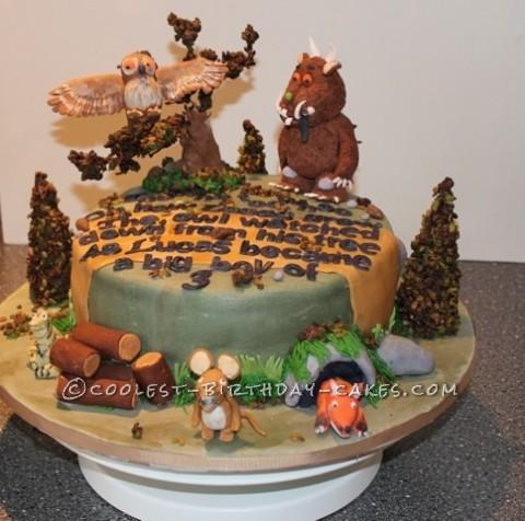 Cool Gruffalo Birthday Cake