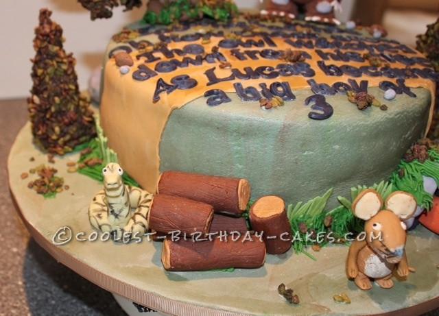 Cool Gruffalo Birthday Cake