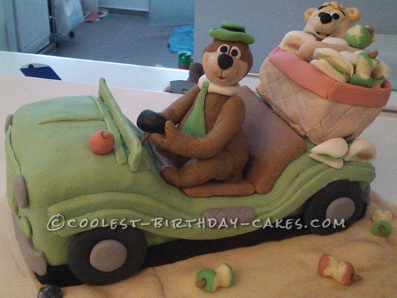 Coolest Yogi Bear Cake