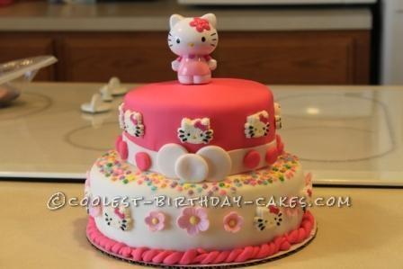 Coolest Hello Kitty Overload Cake