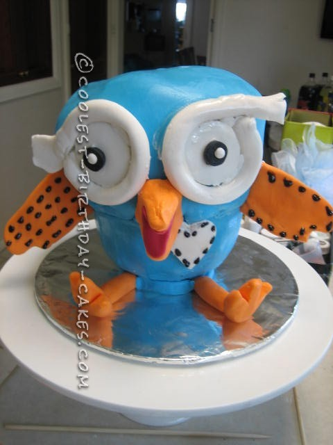 Hoot The Owl Cake Tin