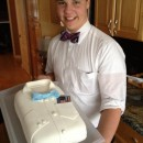 Incredibly Awesome Bow Tie Cake